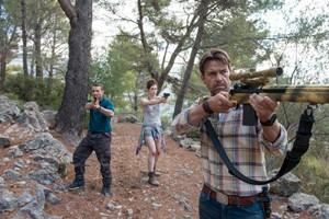 Disparen contra el zombi