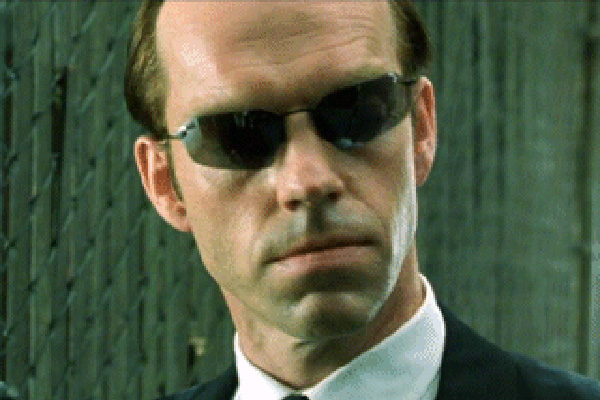 Agente Smith Matrix Revolutions