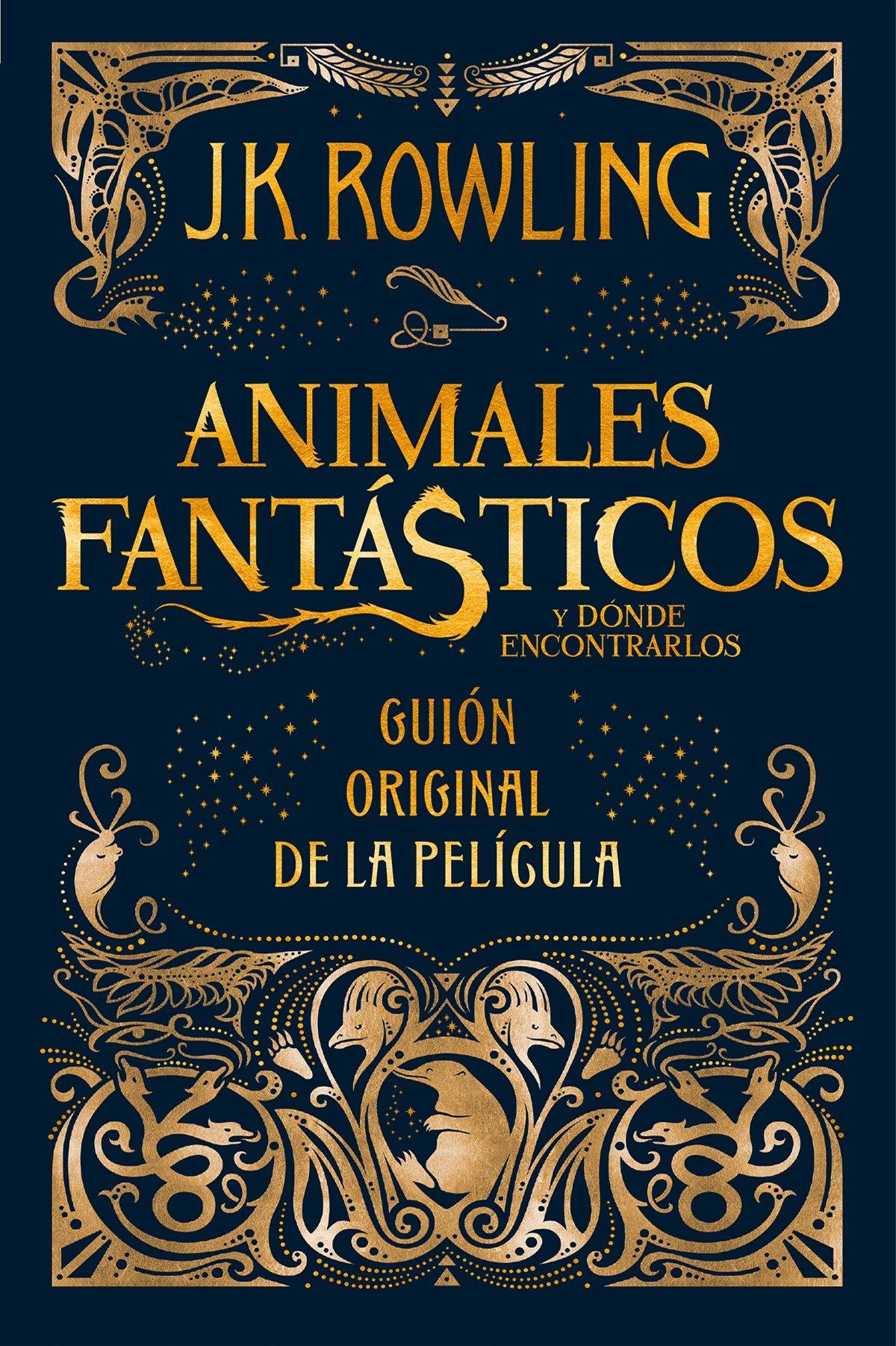 descargar libro animales fantasticos y donde encontrarlos pdf