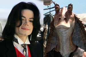 "Michael Jackson estuvo a punto de interpretar a Jar Jar Binks en ""Star Wars: La amenaza fantasma"""