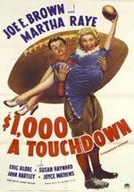 $1000 a Touchdown (1939)