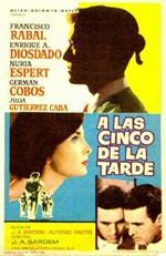 A las cinco de la tarde (1960)