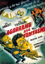 Agárrame ese fantasma (1941)