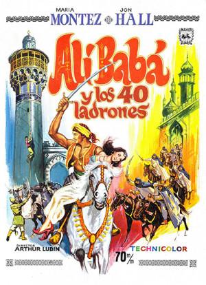Alí Babá y los cuarenta ladrones (1944)