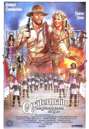 Allan Quatermain y la ciudad perdida del oro (1986)