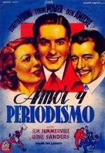 Amor y periodismo (1937)