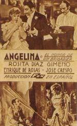 Angelina o el honor de un brigadier  (1935)