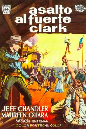 Asalto al fuerte Clark (1953)