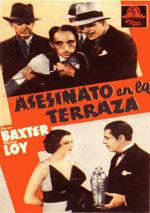 Asesinato en la terraza (1933)