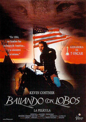 Bailando con lobos (1990)