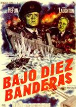 Bajo diez banderas (1960)