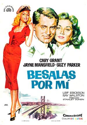 Bésalas por mí (1957)