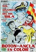 Botón de ancla en color (1961)