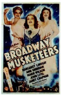 Broadway Musketeers (1938)