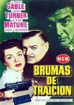 Brumas de traición (1954)