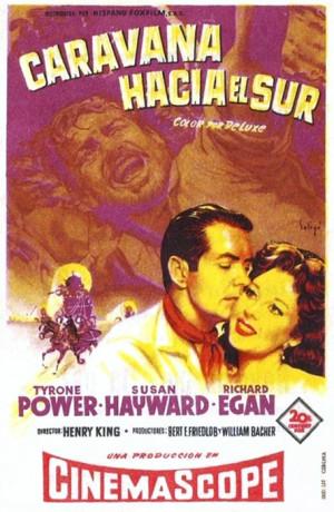 Caravana hacia el sur (1955)