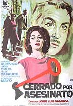 Cerrado por asesinato (1964)