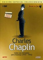 Charlot, portero de banco