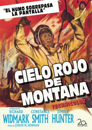 Cielo rojo de Montana
