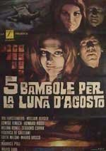 Cinco muñecas para la luna de agosto (1970)
