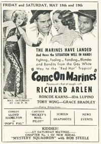 Come on Marines (1934)