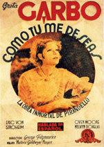 Como tú me deseas (1932)