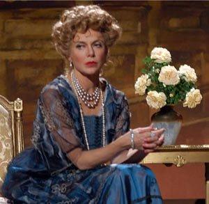 Dama del teatro