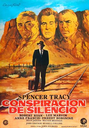 Conspiración de silencio (1955)