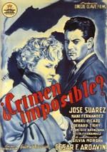 ¿Crimen imposible? (1954)
