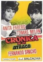 Crónica de un atraco (1968)