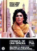 Crónica de una señora (1971)