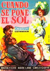 Cuando se pone el sol (1955)