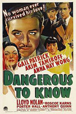 Dangerous to Know (1938)