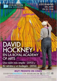 David Hockney at the Royal Academy of Arts (2017)