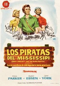 Davy Crockett y los piratas del Mississippi (1956)