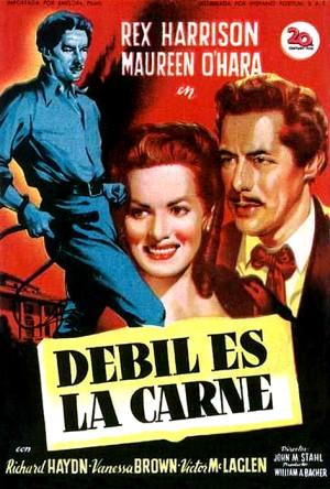 Débil es la carne (1947)