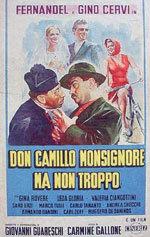 Don Camilo monseñor pero no tanto