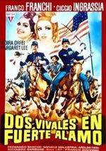 Dos vivales en Fuerte Álamo (1965)