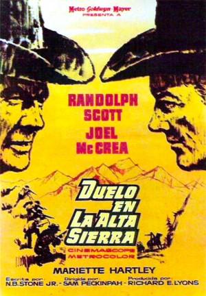 Duelo en la Alta Sierra (1962)
