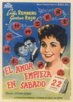 El amor empieza en sábado (1958)