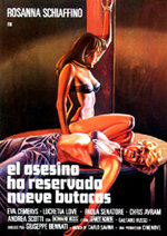 El asesino ha reservado nueve butacas (1974)