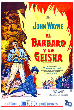El bárbaro y la geisha (1958)