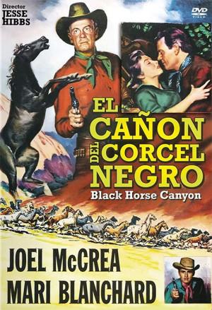 El cañón del corcel negro (1954)