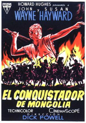 El conquistador de Mongolia (1956)