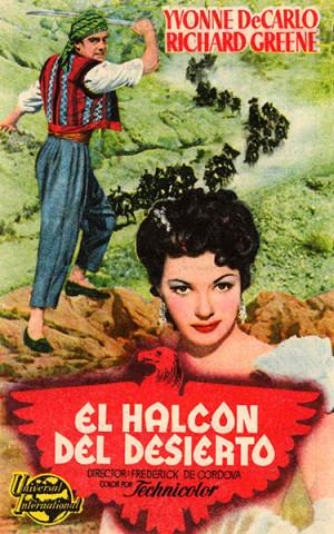 El halcón del desierto (1950)