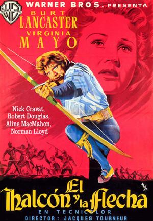 El halcón y la flecha (1950)