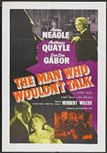 El hombre que no quiso hablar (1958)