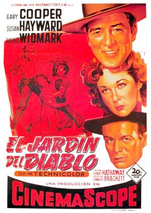 El jardín del diablo (1954)