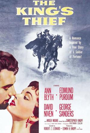 El ladrón del rey (1955)