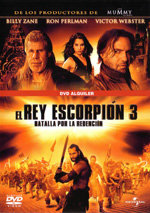 El rey Escorpión 3: Batalla por la redención